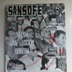 Coleccionismo de Revistas y Periódicos: SANSOFE. REVISTA DE CANARIAS. Nº 86. OCTUBRE 1971. Lote 287876933