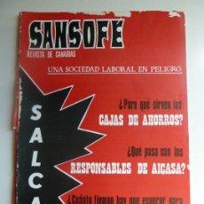 Coleccionismo de Revistas y Periódicos: SANSOFE. REVISTA DE CANARIAS. Nº 102. FEBRERO 1972. Lote 287876993