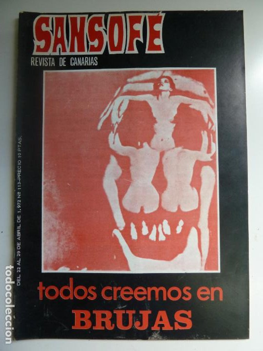 SANSOFE. REVISTA DE CANARIAS. Nº 113. ABRIL 1972 (Coleccionismo - Revistas y Periódicos Modernos (a partir de 1.940) - Otros)