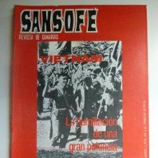 Coleccionismo de Revistas y Periódicos: SANSOFE. REVISTA DE CANARIAS. Nº 112. ABRIL 1972. Lote 287877178