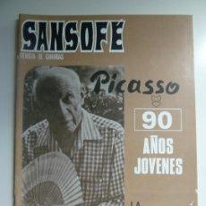 Coleccionismo de Revistas y Periódicos: SANSOFE. REVISTA DE CANARIAS. Nº 89. OCTUBRE 1971. Lote 287877408