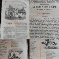 """Coleccionismo de Revistas y Periódicos: SEMANARIO PINTORESCO ESPAÑOL: Nº42, 16 OCTUBRE 1855. CASA DE SALVATOR ROSA """"CASACCIA"""" ARENELLA NAPO. Lote 287884213"""
