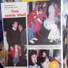Coleccionismo de Revistas y Periódicos: LUCIA DOMINGUIN BIMBA OLFO BOSE JAIME MARTINEZ BORDIU BEATRIZ SANTANA. Lote 287905798