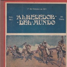 Collectionnisme de Revues et Journaux: REVISTA ALREDEDOR DEL MUNDO- 1917 * ENCAJES * CEDRO * ZULÚS * CAZA JABALÍ *. Lote 287905828