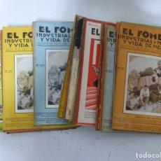 Coleccionismo de Revistas y Periódicos: EL FOMENTO INDUSTRIA Y MERCANTIL Y VIDA Y NEGOCIOS, 41 REVISTAS - AÑOS 1923-1930 - VER FOTOS. Lote 287915108
