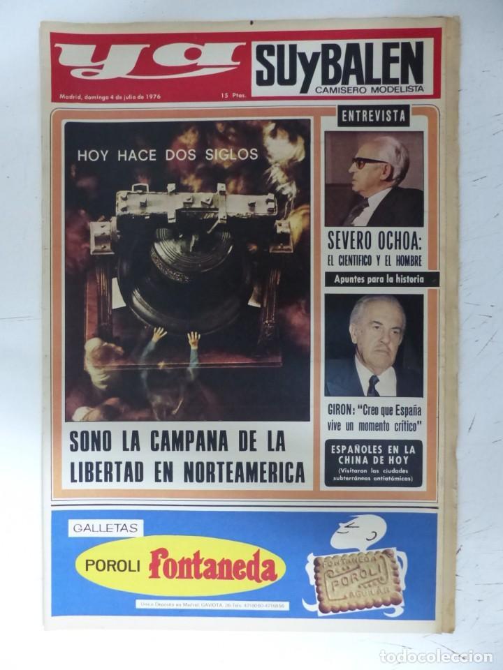 Coleccionismo de Revistas y Periódicos: YA - 48 REVISTAS - AÑOS 1976-1977-1978 - VER FOTOS ADICIONALES - Foto 2 - 287927683