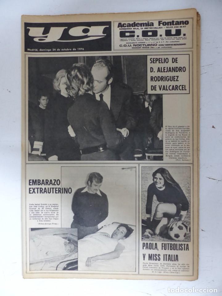 Coleccionismo de Revistas y Periódicos: YA - 48 REVISTAS - AÑOS 1976-1977-1978 - VER FOTOS ADICIONALES - Foto 3 - 287927683