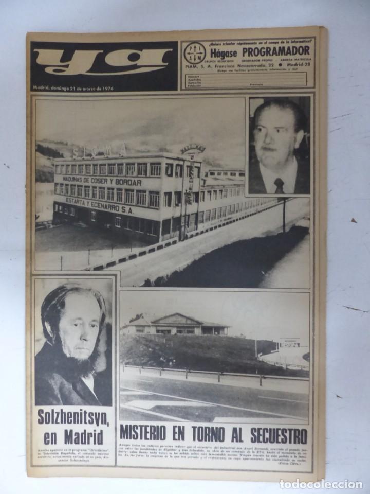Coleccionismo de Revistas y Periódicos: YA - 48 REVISTAS - AÑOS 1976-1977-1978 - VER FOTOS ADICIONALES - Foto 5 - 287927683