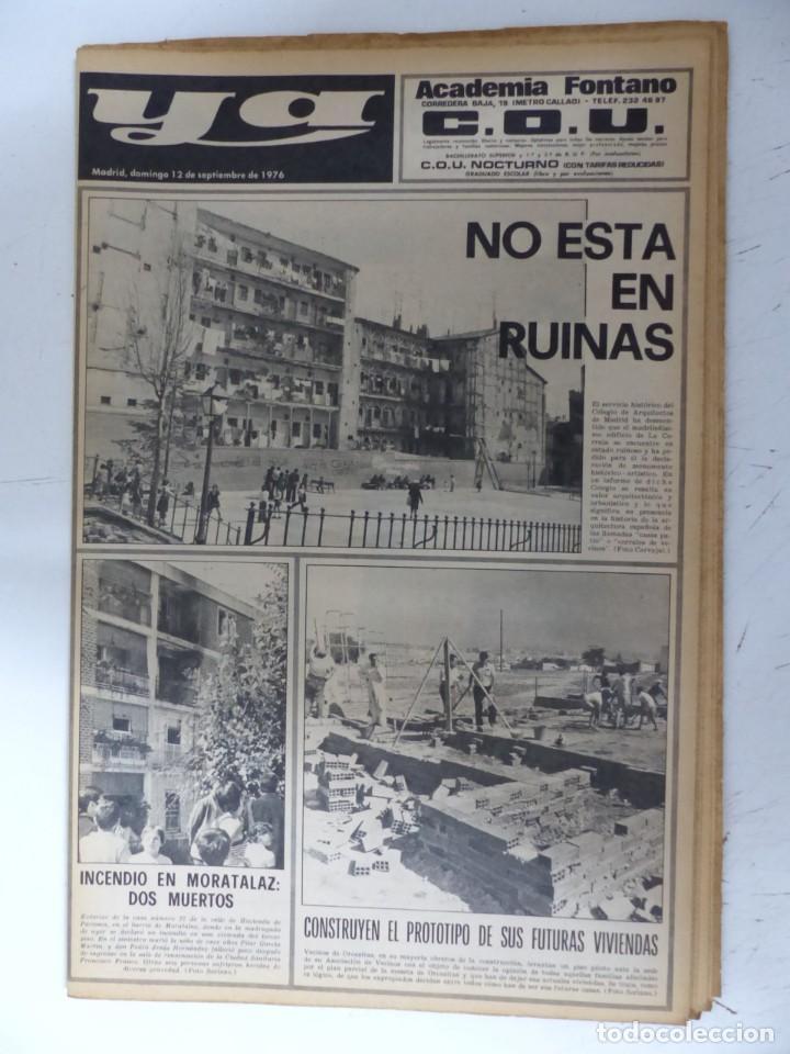 Coleccionismo de Revistas y Periódicos: YA - 48 REVISTAS - AÑOS 1976-1977-1978 - VER FOTOS ADICIONALES - Foto 7 - 287927683