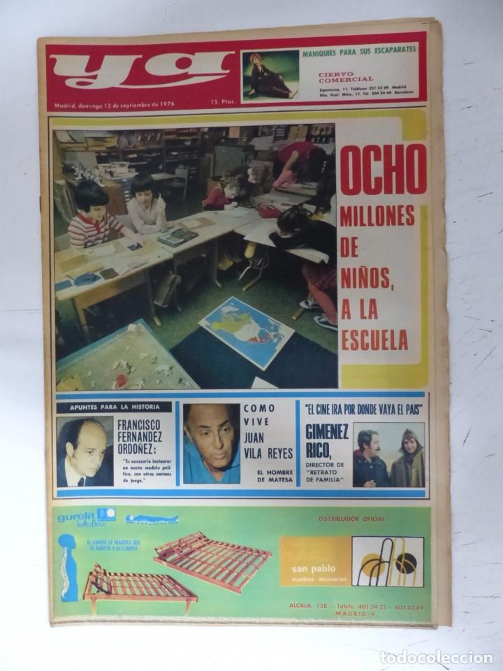 Coleccionismo de Revistas y Periódicos: YA - 48 REVISTAS - AÑOS 1976-1977-1978 - VER FOTOS ADICIONALES - Foto 8 - 287927683