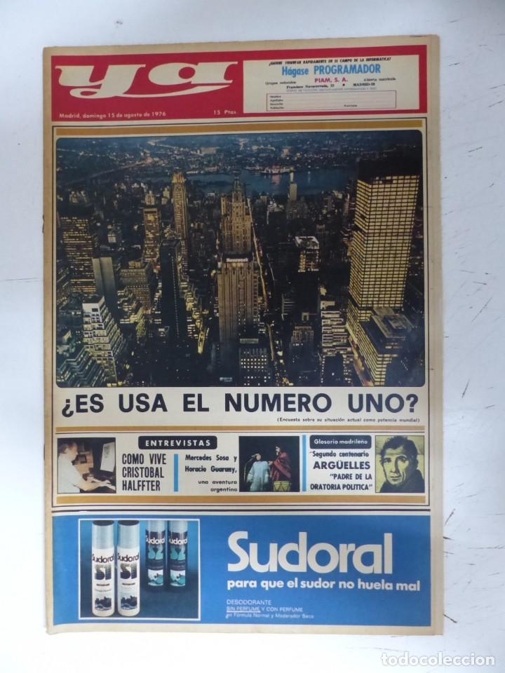 Coleccionismo de Revistas y Periódicos: YA - 48 REVISTAS - AÑOS 1976-1977-1978 - VER FOTOS ADICIONALES - Foto 10 - 287927683