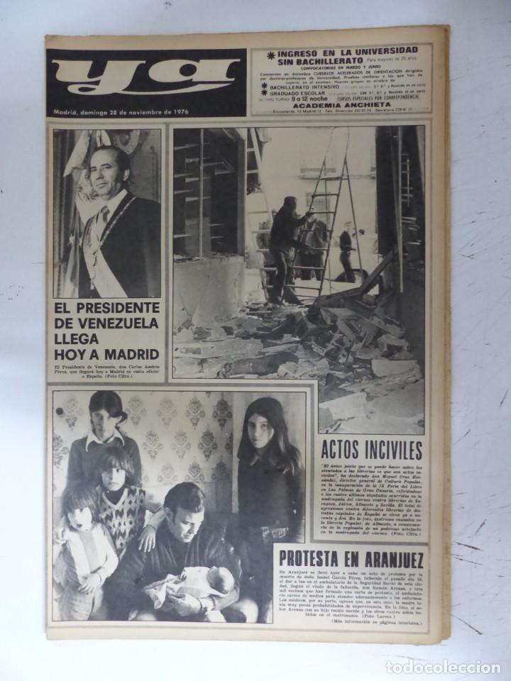 Coleccionismo de Revistas y Periódicos: YA - 48 REVISTAS - AÑOS 1976-1977-1978 - VER FOTOS ADICIONALES - Foto 11 - 287927683