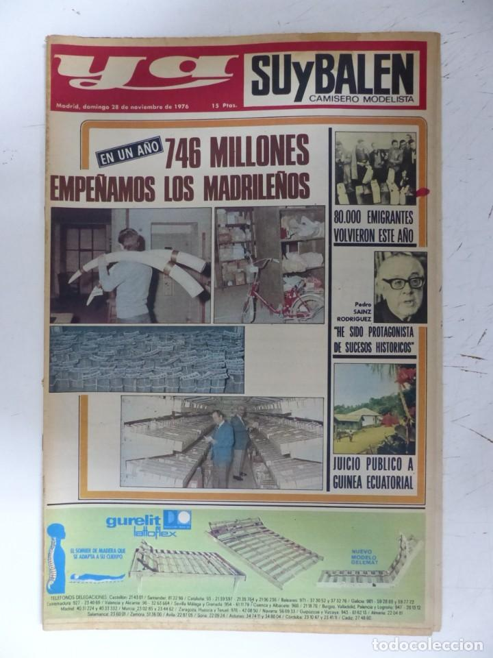 Coleccionismo de Revistas y Periódicos: YA - 48 REVISTAS - AÑOS 1976-1977-1978 - VER FOTOS ADICIONALES - Foto 12 - 287927683