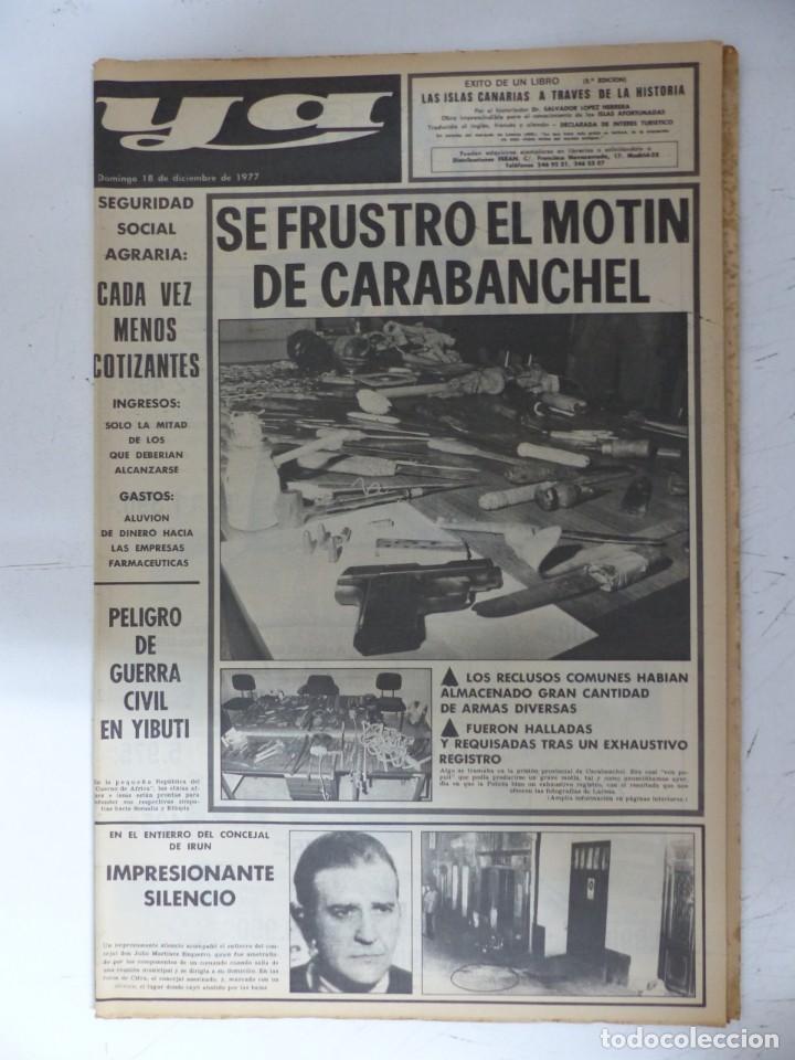 Coleccionismo de Revistas y Periódicos: YA - 48 REVISTAS - AÑOS 1976-1977-1978 - VER FOTOS ADICIONALES - Foto 13 - 287927683