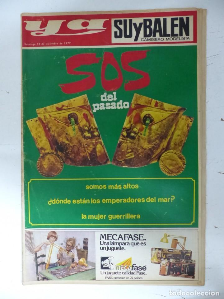 Coleccionismo de Revistas y Periódicos: YA - 48 REVISTAS - AÑOS 1976-1977-1978 - VER FOTOS ADICIONALES - Foto 14 - 287927683