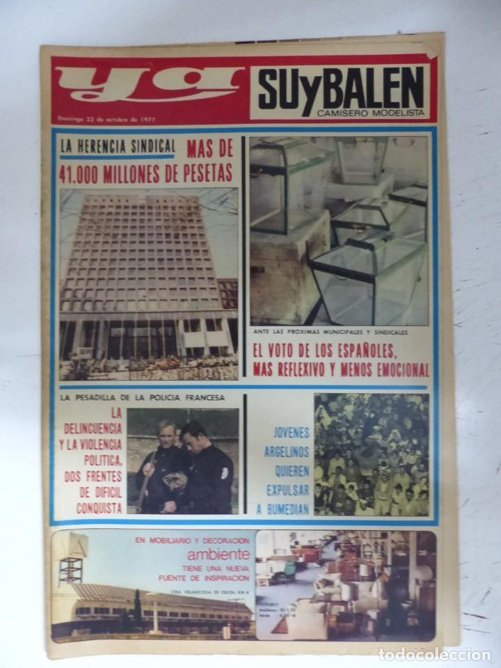 Coleccionismo de Revistas y Periódicos: YA - 48 REVISTAS - AÑOS 1976-1977-1978 - VER FOTOS ADICIONALES - Foto 16 - 287927683