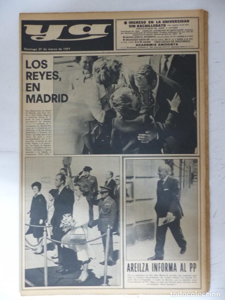 Coleccionismo de Revistas y Periódicos: YA - 48 REVISTAS - AÑOS 1976-1977-1978 - VER FOTOS ADICIONALES - Foto 17 - 287927683