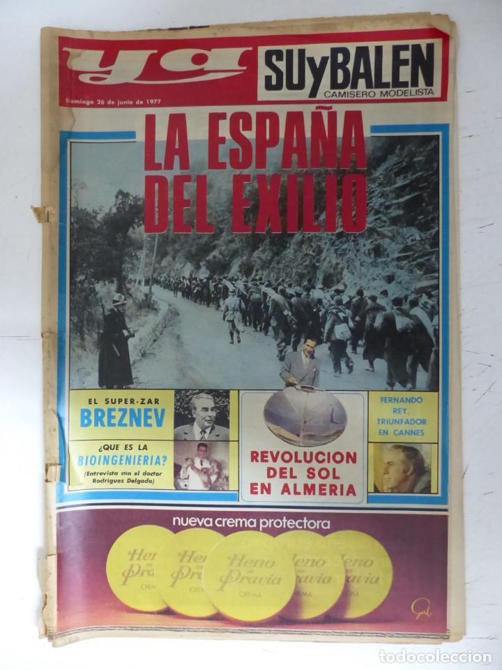 Coleccionismo de Revistas y Periódicos: YA - 48 REVISTAS - AÑOS 1976-1977-1978 - VER FOTOS ADICIONALES - Foto 22 - 287927683