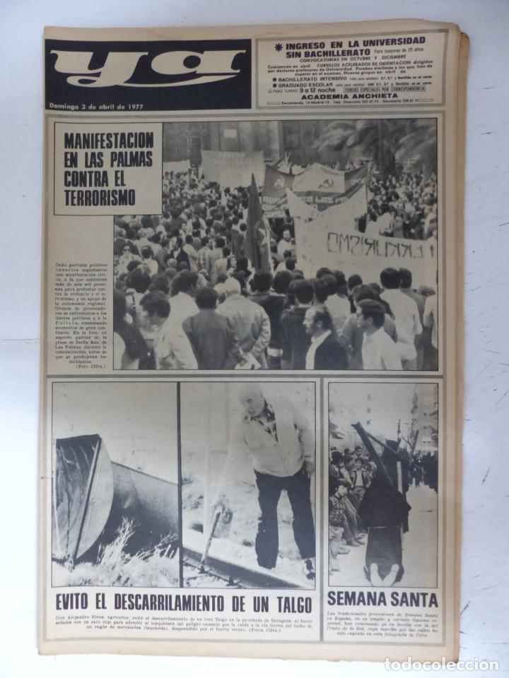 Coleccionismo de Revistas y Periódicos: YA - 48 REVISTAS - AÑOS 1976-1977-1978 - VER FOTOS ADICIONALES - Foto 27 - 287927683
