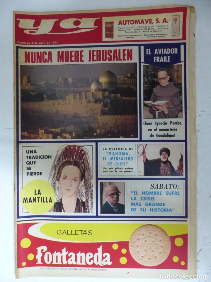 Coleccionismo de Revistas y Periódicos: YA - 48 REVISTAS - AÑOS 1976-1977-1978 - VER FOTOS ADICIONALES - Foto 28 - 287927683