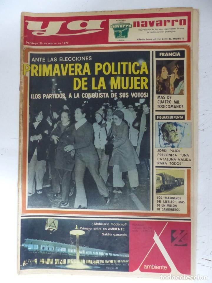 Coleccionismo de Revistas y Periódicos: YA - 48 REVISTAS - AÑOS 1976-1977-1978 - VER FOTOS ADICIONALES - Foto 30 - 287927683