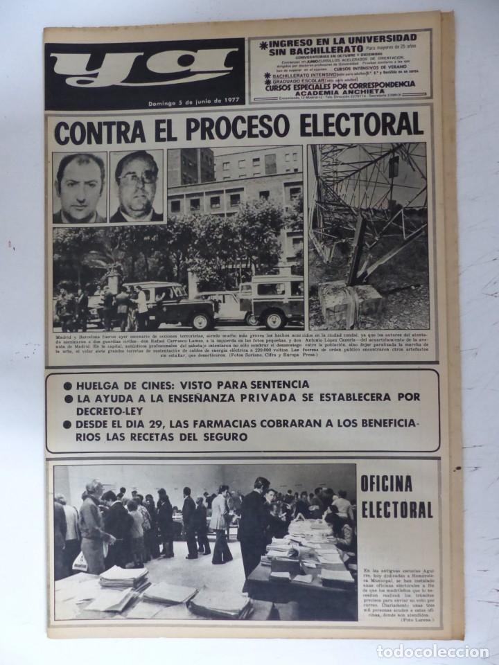 Coleccionismo de Revistas y Periódicos: YA - 48 REVISTAS - AÑOS 1976-1977-1978 - VER FOTOS ADICIONALES - Foto 31 - 287927683