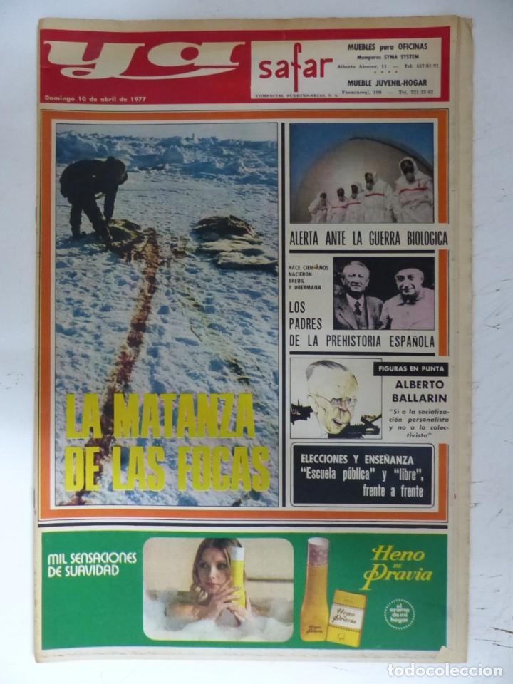 Coleccionismo de Revistas y Periódicos: YA - 48 REVISTAS - AÑOS 1976-1977-1978 - VER FOTOS ADICIONALES - Foto 34 - 287927683