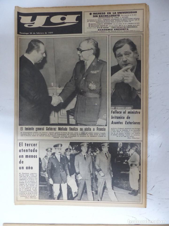 Coleccionismo de Revistas y Periódicos: YA - 48 REVISTAS - AÑOS 1976-1977-1978 - VER FOTOS ADICIONALES - Foto 35 - 287927683