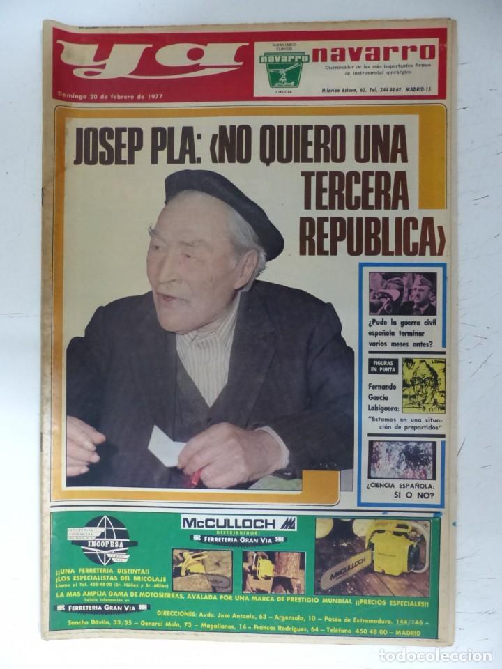 Coleccionismo de Revistas y Periódicos: YA - 48 REVISTAS - AÑOS 1976-1977-1978 - VER FOTOS ADICIONALES - Foto 36 - 287927683