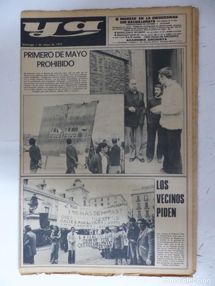Coleccionismo de Revistas y Periódicos: YA - 48 REVISTAS - AÑOS 1976-1977-1978 - VER FOTOS ADICIONALES - Foto 37 - 287927683