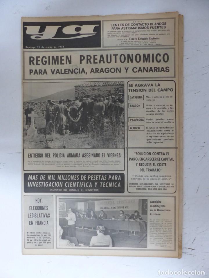 Coleccionismo de Revistas y Periódicos: YA - 48 REVISTAS - AÑOS 1976-1977-1978 - VER FOTOS ADICIONALES - Foto 39 - 287927683