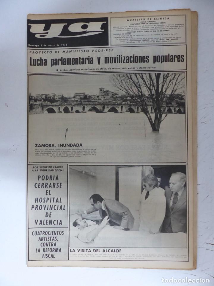 Coleccionismo de Revistas y Periódicos: YA - 48 REVISTAS - AÑOS 1976-1977-1978 - VER FOTOS ADICIONALES - Foto 41 - 287927683