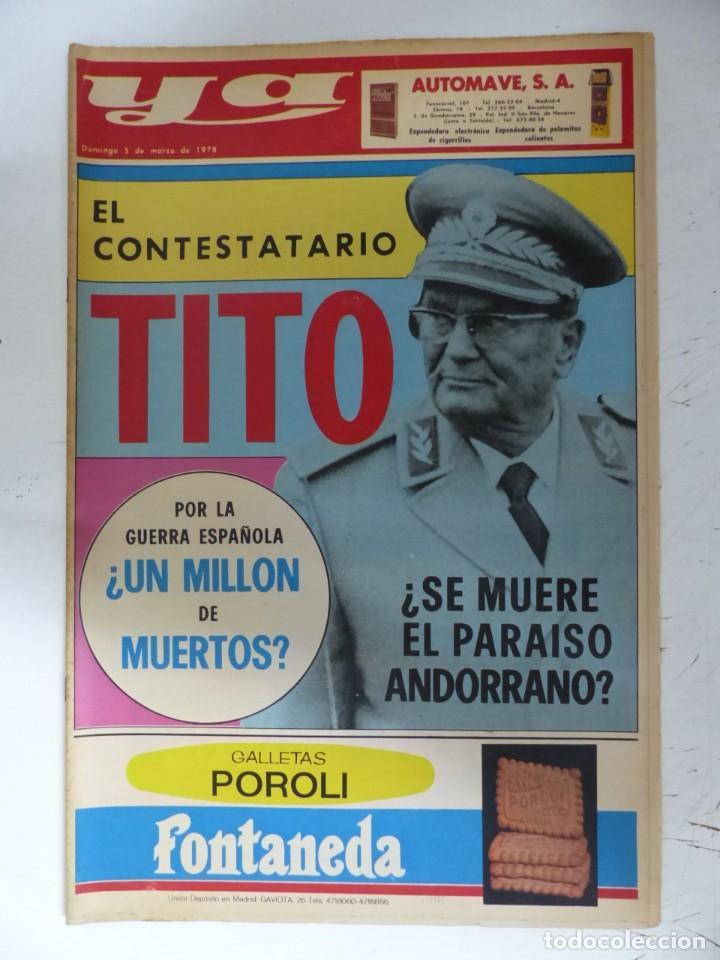 Coleccionismo de Revistas y Periódicos: YA - 48 REVISTAS - AÑOS 1976-1977-1978 - VER FOTOS ADICIONALES - Foto 42 - 287927683