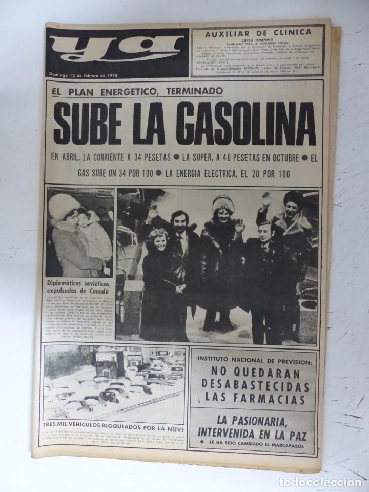 Coleccionismo de Revistas y Periódicos: YA - 48 REVISTAS - AÑOS 1976-1977-1978 - VER FOTOS ADICIONALES - Foto 43 - 287927683