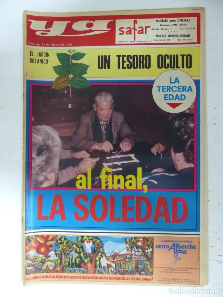 Coleccionismo de Revistas y Periódicos: YA - 48 REVISTAS - AÑOS 1976-1977-1978 - VER FOTOS ADICIONALES - Foto 44 - 287927683