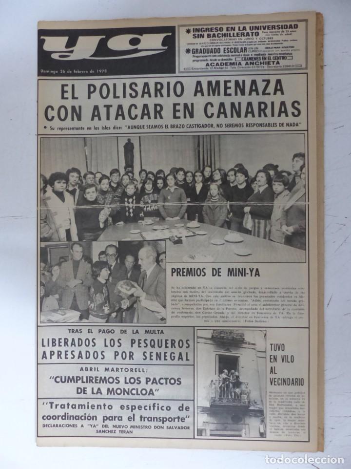 Coleccionismo de Revistas y Periódicos: YA - 48 REVISTAS - AÑOS 1976-1977-1978 - VER FOTOS ADICIONALES - Foto 45 - 287927683