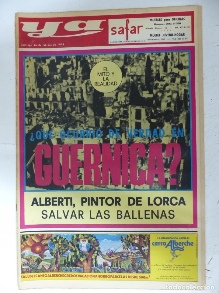 Coleccionismo de Revistas y Periódicos: YA - 48 REVISTAS - AÑOS 1976-1977-1978 - VER FOTOS ADICIONALES - Foto 46 - 287927683