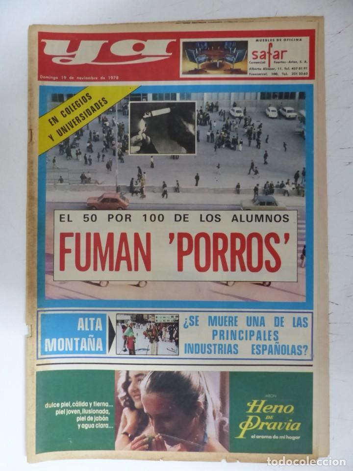 Coleccionismo de Revistas y Periódicos: YA - 48 REVISTAS - AÑOS 1976-1977-1978 - VER FOTOS ADICIONALES - Foto 48 - 287927683