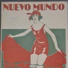 Colecionismo de Revistas e Jornais: REVISTA NUEVO MUNDO Nº 1441. 26 AGOSTO 1921. Lote 287931363