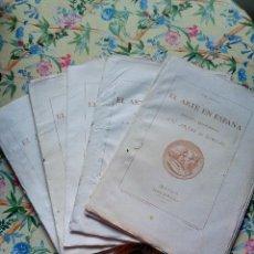 Collectionnisme de Revues et Journaux: AÑOS 1862/1863 5 NÚM. REVISTA EL ARTE EN ESPAÑA CON GRABADOS Y LÁMINAS. Lote 287975308