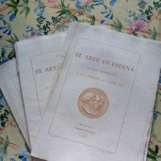 Collectionnisme de Revues et Journaux: AÑO 1862. 3 NÚM. REVISTA EL ARTE EN ESPAÑA CON GRABADOS Y LÁMINAS. Lote 287979733