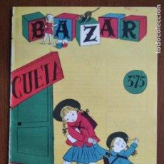 Coleccionismo de Revistas y Periódicos: BAZAR. OCTUBRE 1953. NÚM. 79. Lote 288001013