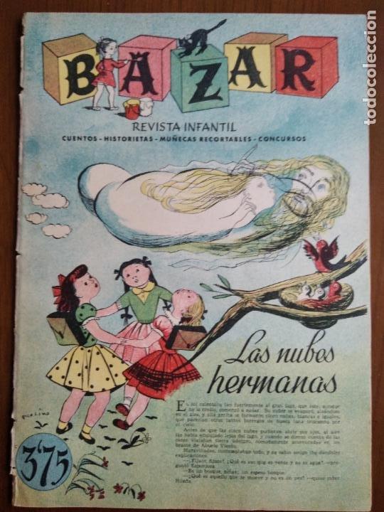 BAZAR. MARZO 1954. NÚM. 84 (Coleccionismo - Revistas y Periódicos Modernos (a partir de 1.940) - Otros)