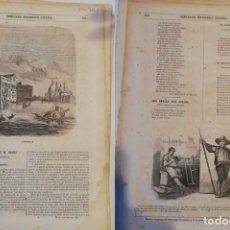 Coleccionismo de Revistas y Periódicos: SEMANARIO PINTORESCO ESPAÑOL: Nº 44, 30 OCTUBRE 1853. GRABADO VENECIA, CASAS Y CALLES MADRID ARTÍCU. Lote 288040478