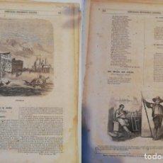 Coleccionismo de Revistas y Periódicos: SEMANARIO PINTORESCO ESPAÑOL: Nº 44, 30 OCTUBRE 1853. GRABADO VENECIA, CASAS Y CALLES MADRID ARTÍCU. Lote 288040503
