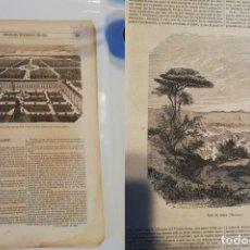 Coleccionismo de Revistas y Periódicos: SEMANARIO PINTORESCO ESPAÑOL, Nº 46, 13 NOVIEMBRE 1853. GRABADO EL RETIRO SIGLO XVII. Lote 288040848