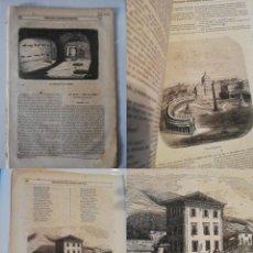 Coleccionismo de Revistas y Periódicos: SEMANARIO PINTORESCO ESPAÑOL, Nº 49, 4 DICIEMBRE 1853: PEÑA DE SAN ROMÁN, ERMITA DE SAN FRANCISCO DE. Lote 288041243