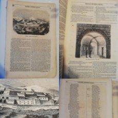 Coleccionismo de Revistas y Periódicos: SEMANARIO PINTORESCO ESPAÑOL, Nº 50, 11 DICIEMBRE 1853: CASTILLO SAN FELIPE FERROL, CAMPANA HUESCA. Lote 288041553