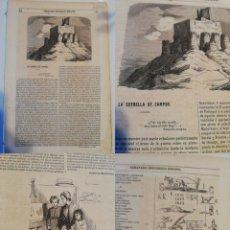 Coleccionismo de Revistas y Periódicos: SEMANARIO PINTORESCO ESPAÑOL, Nº 51, 18 DICIEMBRE 1853: ESTRELLA DE CAMPOS EN TORREMORMOJÓN GRABADO. Lote 288042138