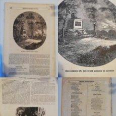 Coleccionismo de Revistas y Periódicos: SEMANARIO PINTORESCO ESPAÑOL, Nº 52, 23 DICIEMBRE 1853: MONUMENTO SCHEVERIN, CASAS Y CALLES MADRID. Lote 288042263